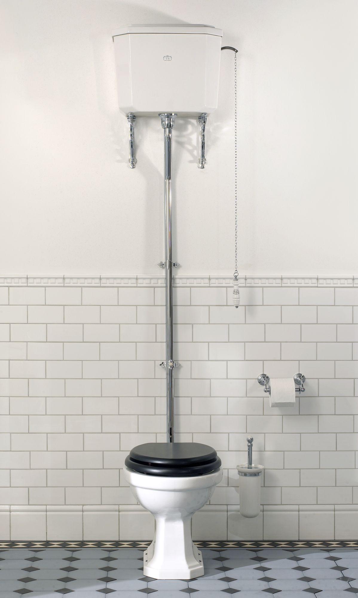 Bristol wc mit hochh ngendem sp lkasten traditional - Bagno devon e devon ...