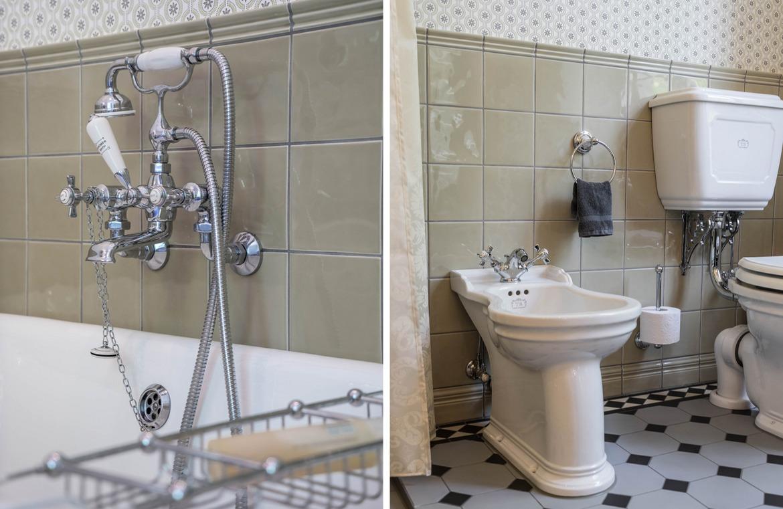 Viktorianisches Badezimmer im englischen Stil