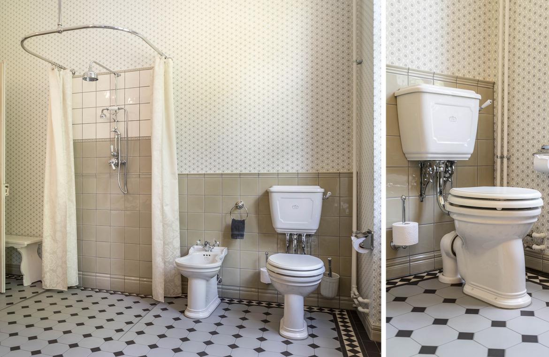 Viktorianisches Badezimmer mit LIVERPOOL Porzellanserie