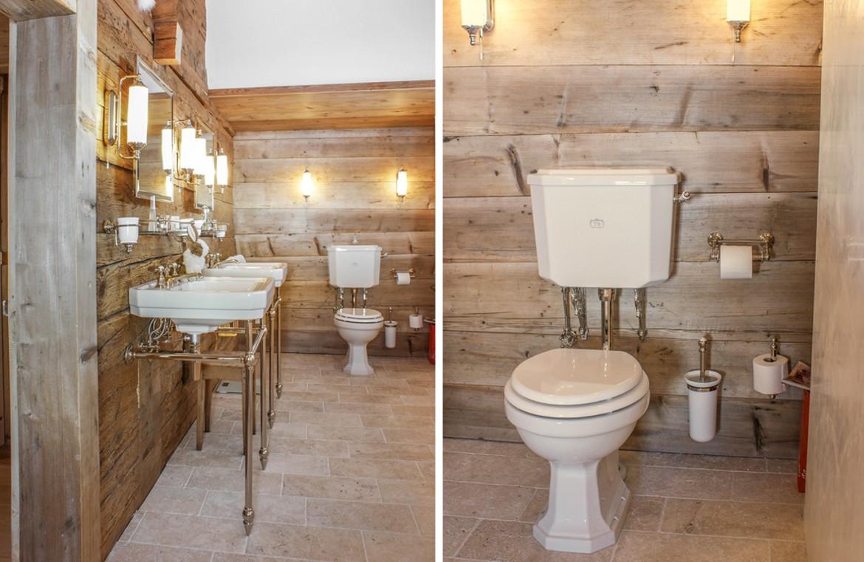 Badezimmer im zeitlosen Landhausstil