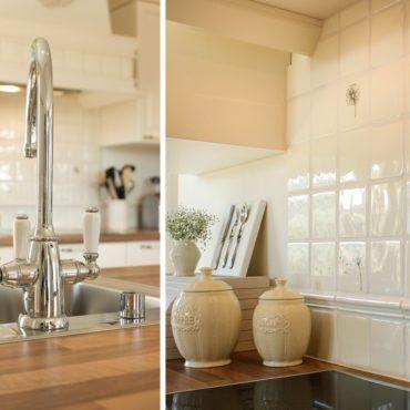 Küchenarmatur im zeitlos klassischen Landhausstil