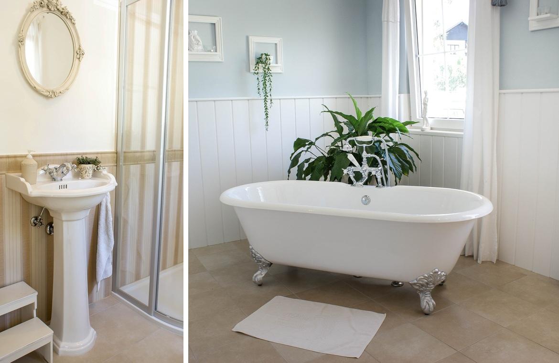 Bad im klassischen Landhausstil – TRADITIONAL BATHROOMS