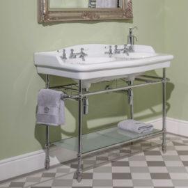 Helen archives traditional bathrooms for Waschtisch doppelt