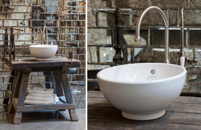 bad im industriestil – traditional bathrooms