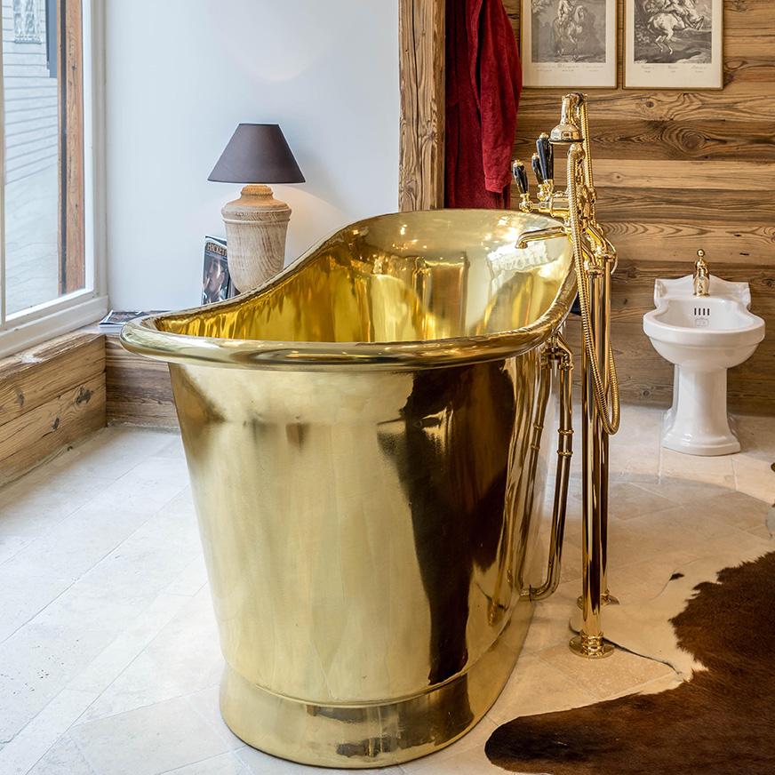Kupfer Badewanne kupferbadewanne cuprosa – traditional bathrooms