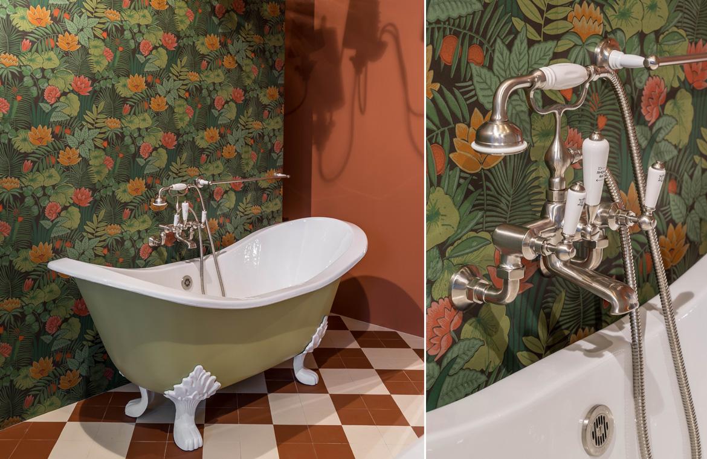 Badezimmer im Nostalgie Stil
