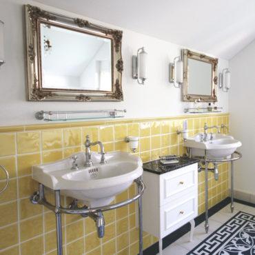 Badezimmer Vintage Stil