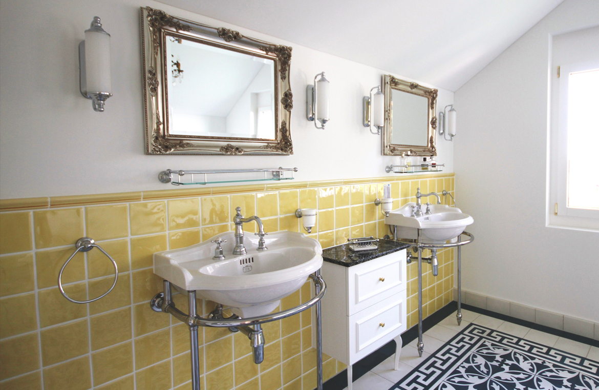 Badezimmer im Vintage Stil – TRADITIONAL BATHROOMS