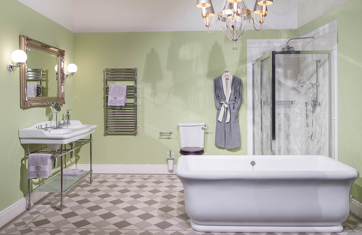 Retro Badezimmer – TRADITIONAL BATHROOMS