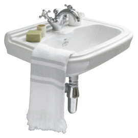 Klassisches Handwaschbecken