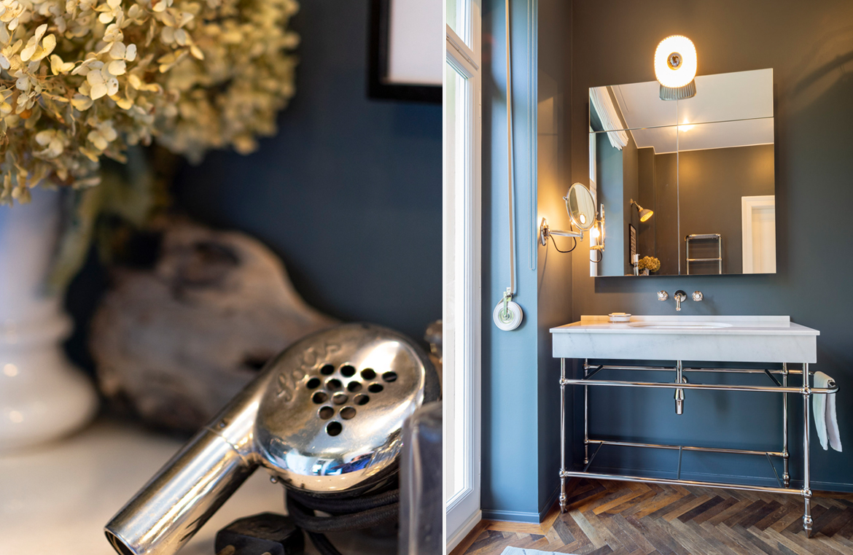 Vintage Badezimmer