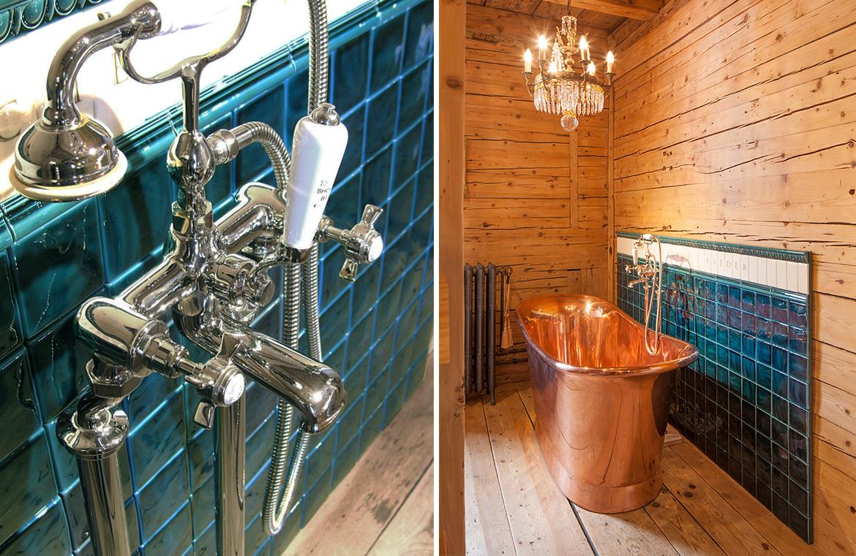 Badezimmer nostalgisch