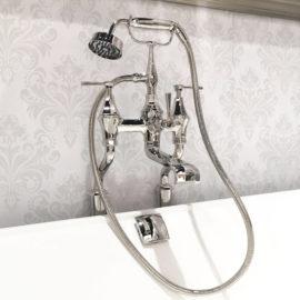 PR3100/1 Wannenfüll- und Brausearmatur im Art Déco Stil