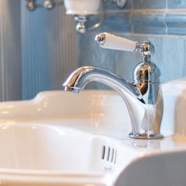 TB415.514 Vintage Einhelbelmischer Waschtisch