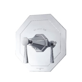 P&R ART DÉCO Thermostat Duscharmatur mit Hebel PR5157
