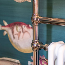 Vintage Handtuchwärmer