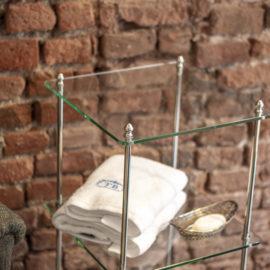 Glas Etagere mit 3 Glas Ablageböden