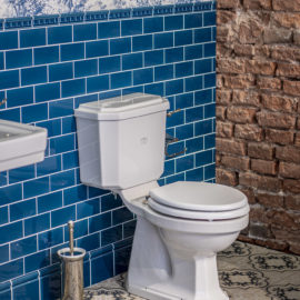 Nostalgie Toilette WC CS-WO-W