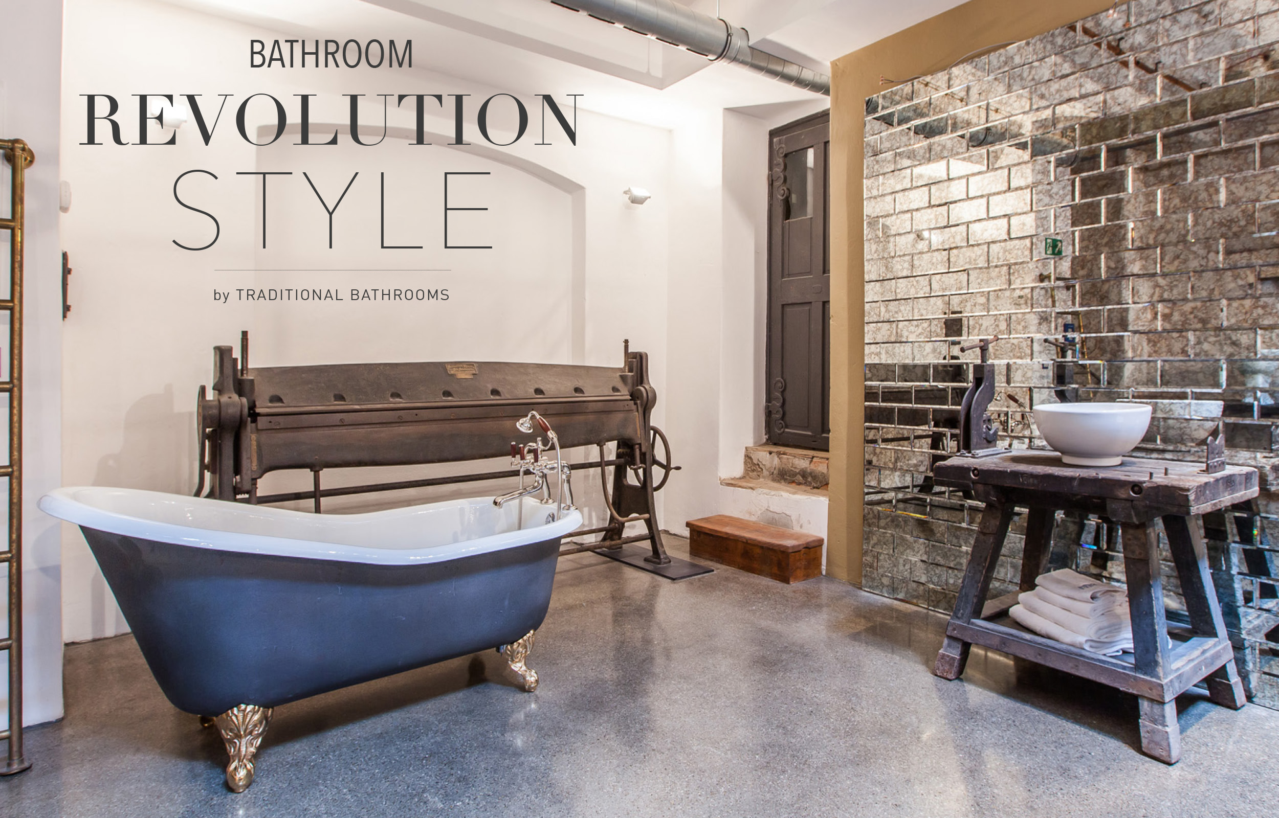 Loft Bad By Traditional Bathrooms Kreativ Hochwertig Und Individuell