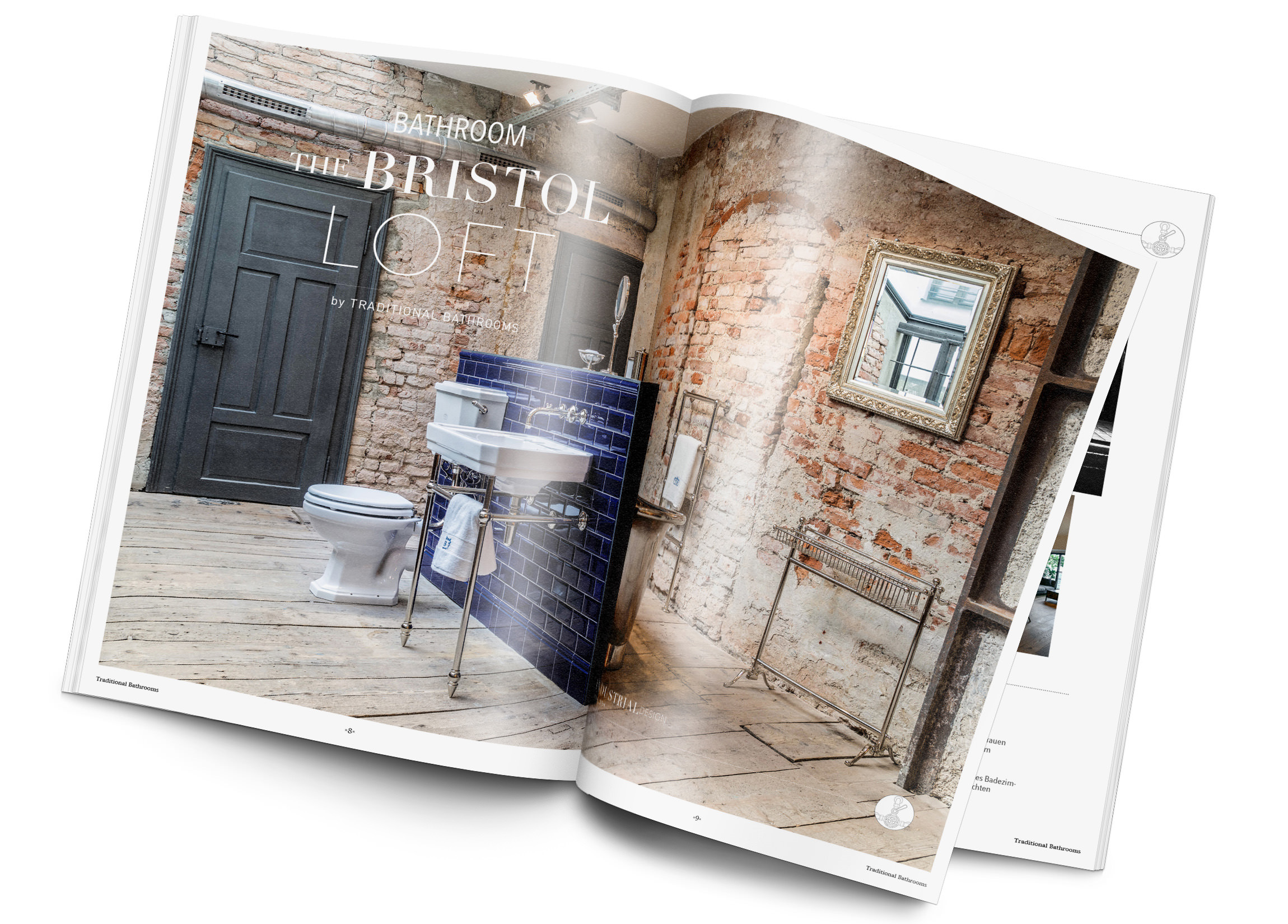 Magazin Badezimmer Industrial Design
