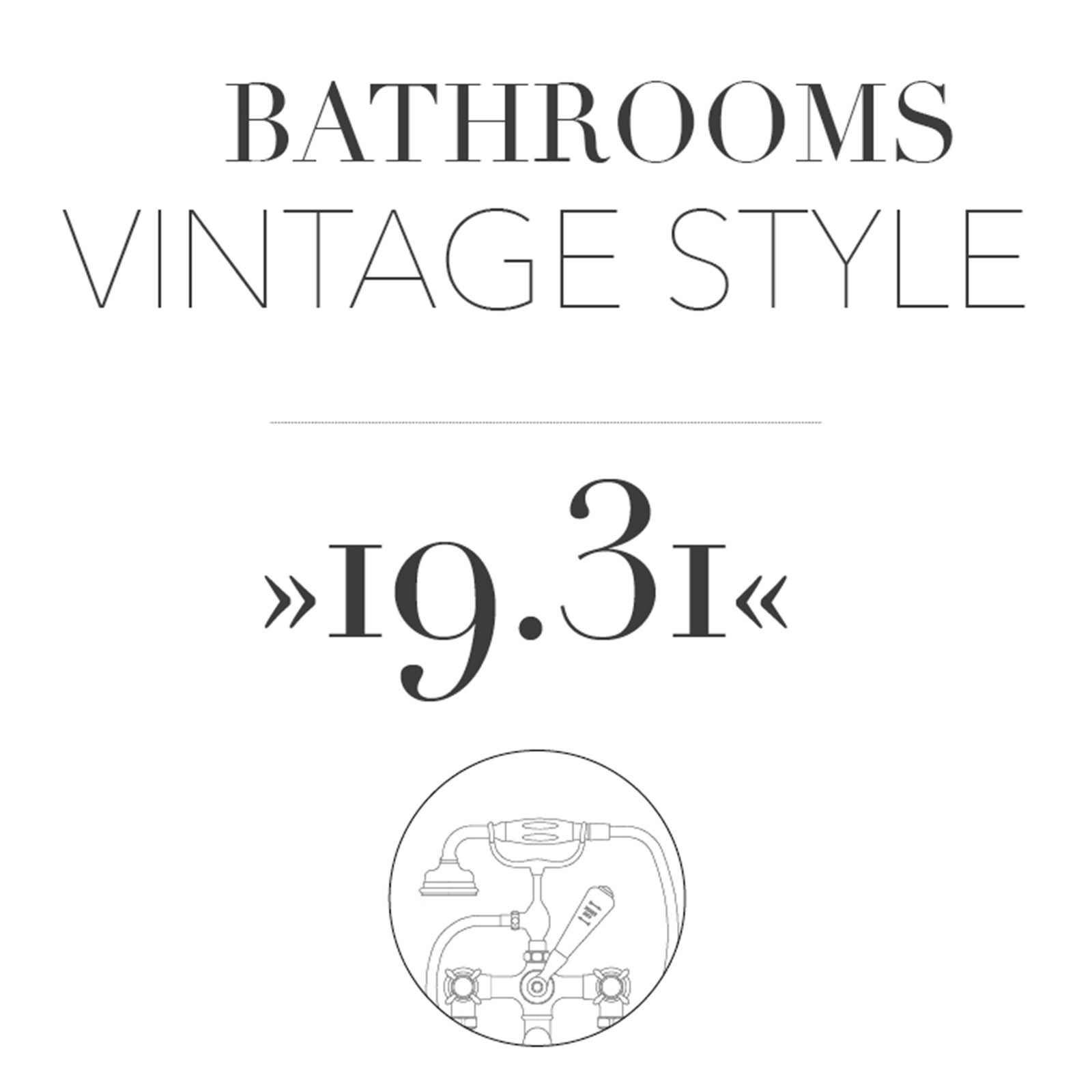 Bathrooms Vintage Style