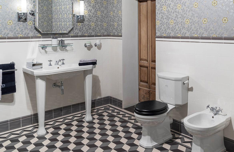 Badezimmer Art Deco