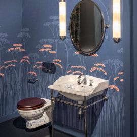 Jugendstil Badezimmer mit Waschtisch Somerset Garden TB-SG-063