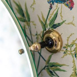 Vintage Badezimmerspiegel Brighton oval