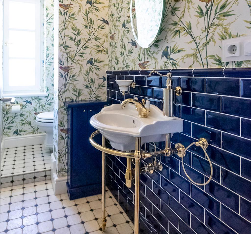 Vintage Gäste WC
