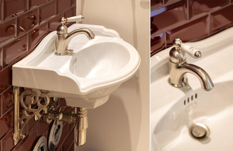 Handwaschbecken im Retro Stil
