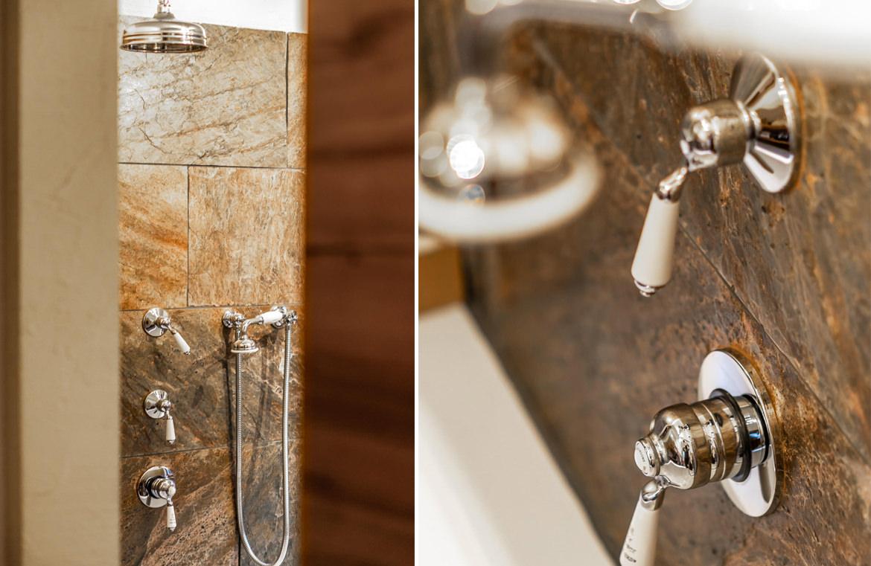 Loft Badezimmer Dusche