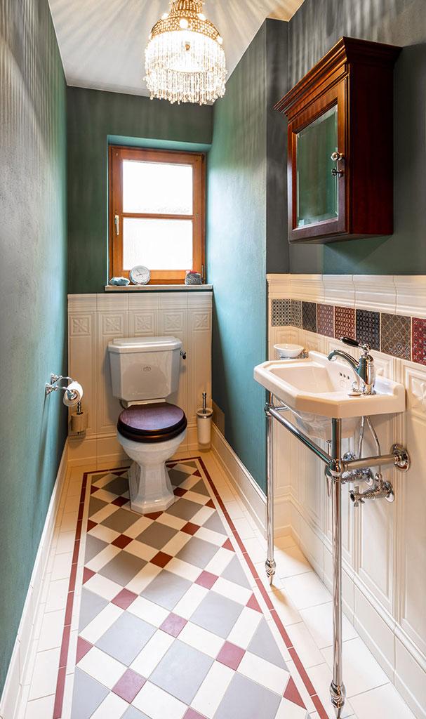 Retro Gäste Toilette