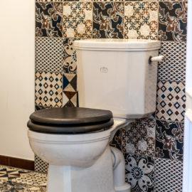 Art Déco WC Kombination