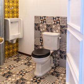 Art Deco WC Kombination