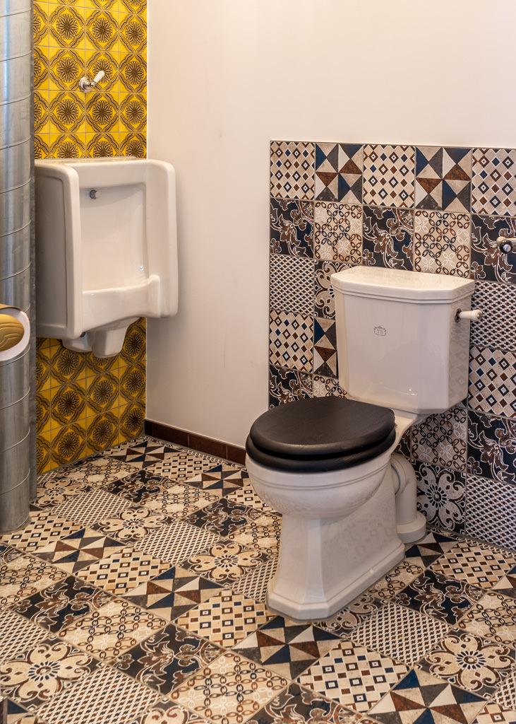 Nostalgisches WC
