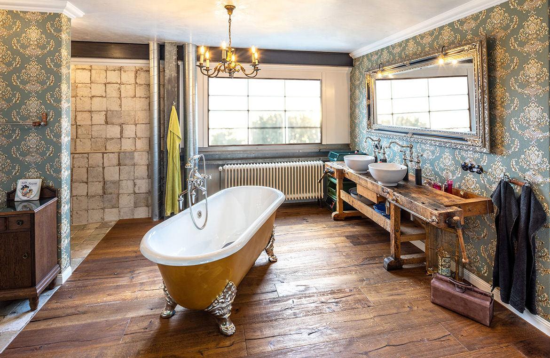 Badezimmer im Loft Stil