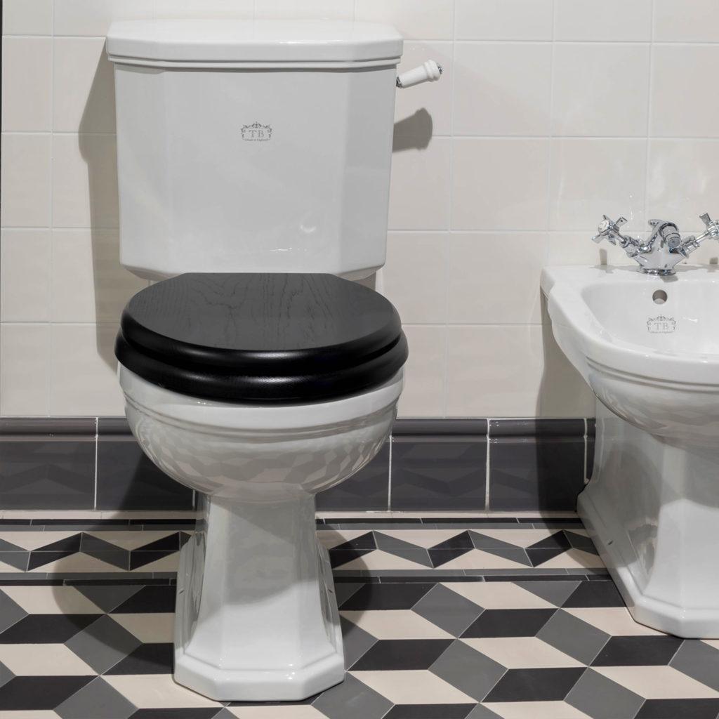 Art Deco Badezimmer WC Kombination