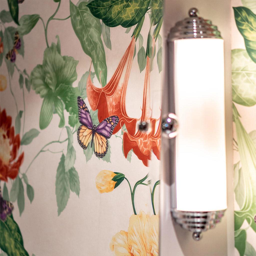 Vintage Style Badezimmer Wandlampe