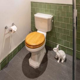 Vintage Style Badezimmer Retro Toilette