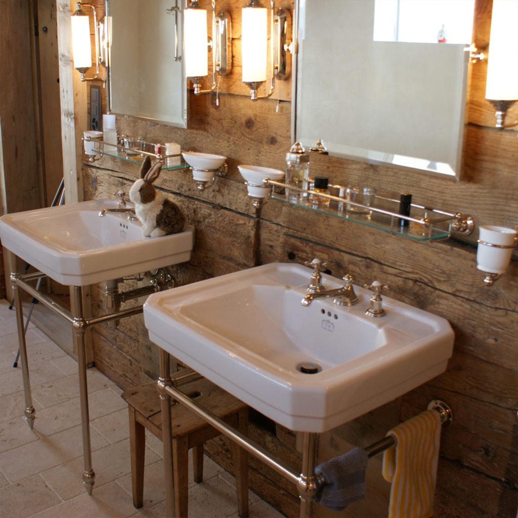 Badezimmer im Alpenstyle