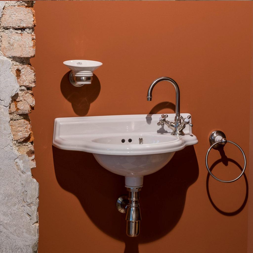 Vintage Handwaschbecken Badezimmer im Nostalgie Stil