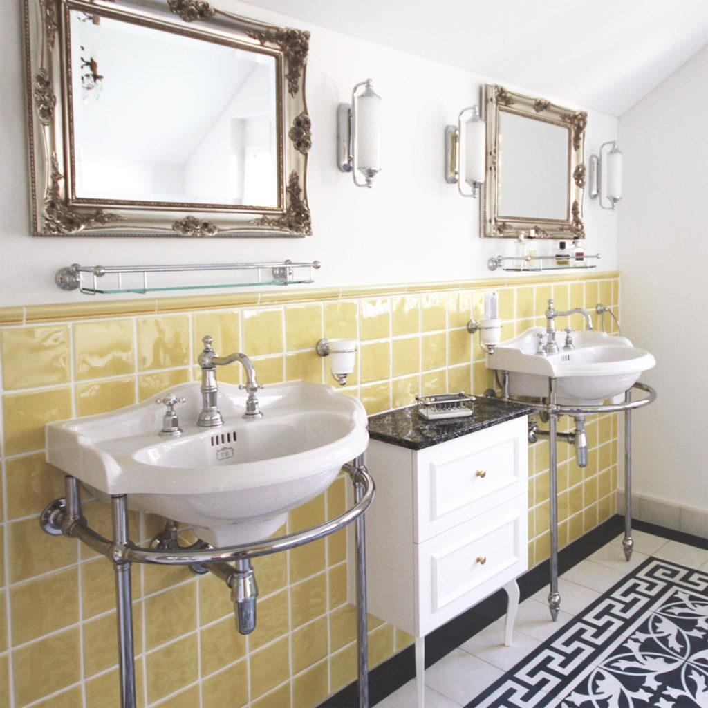 Badezimmer im Vintage Stil