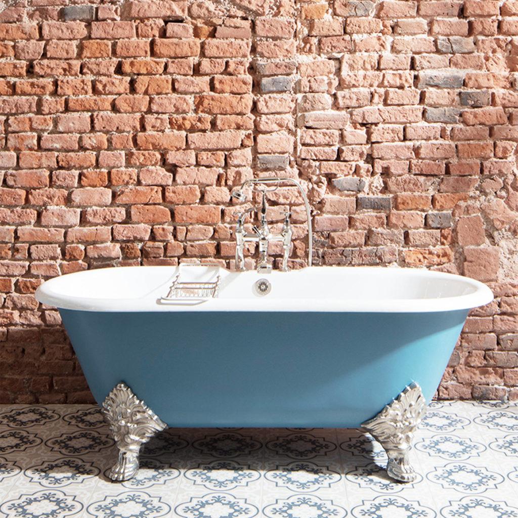 Badezimmer im klassischen Stil Vintage Badewanne