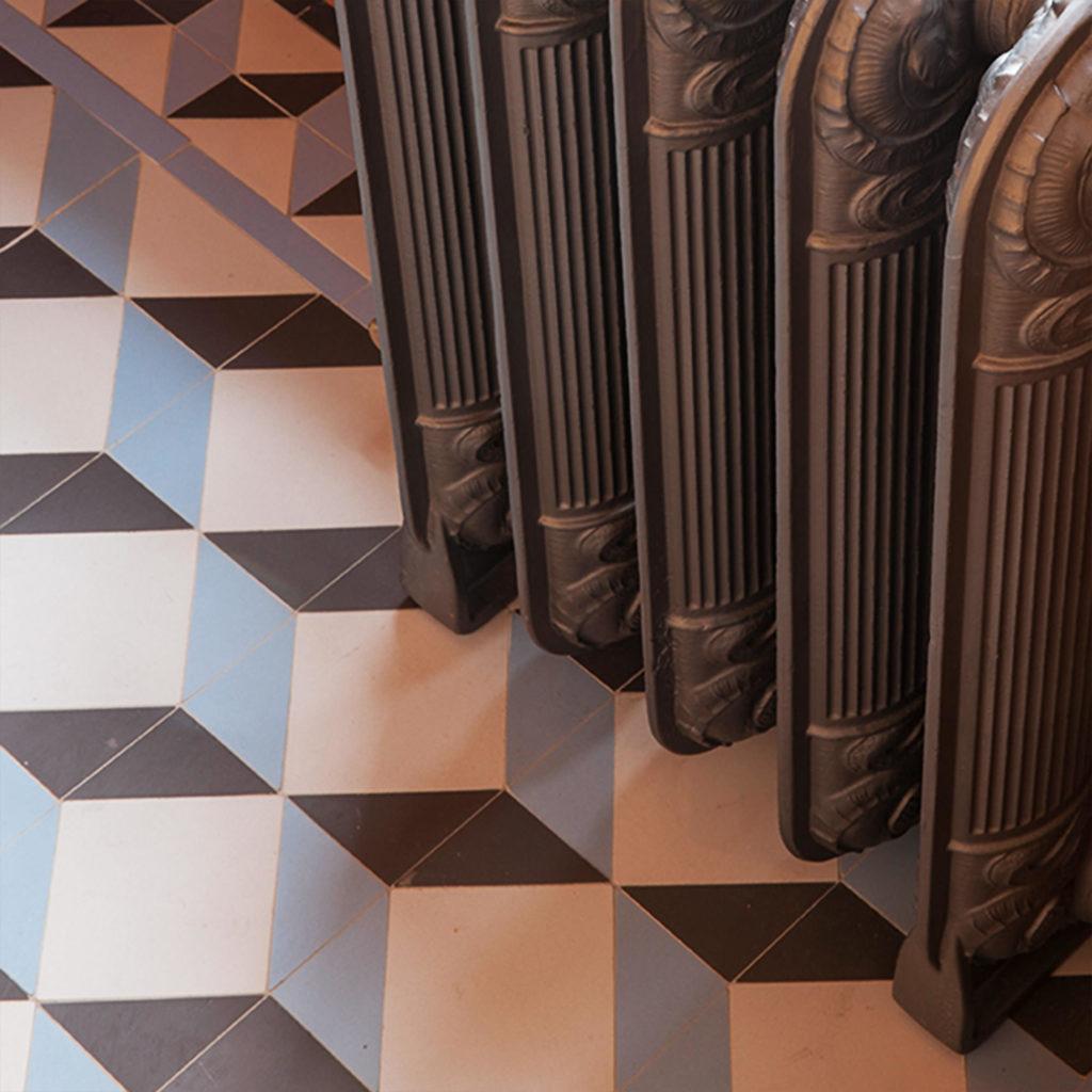 Victorian Floor Tiles Bloombury