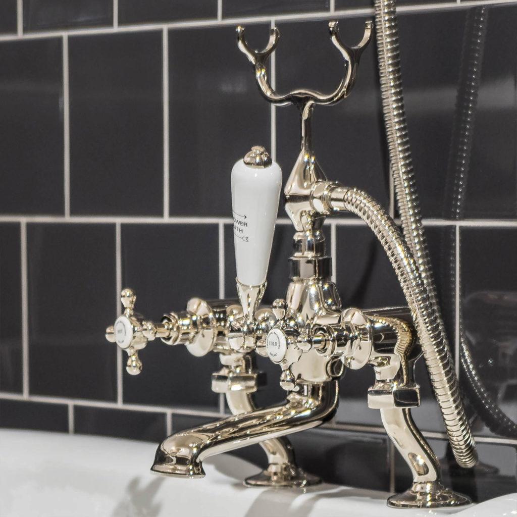 Classic Style Badezimmer Vintage Wannenfüll- und Brausearmatur