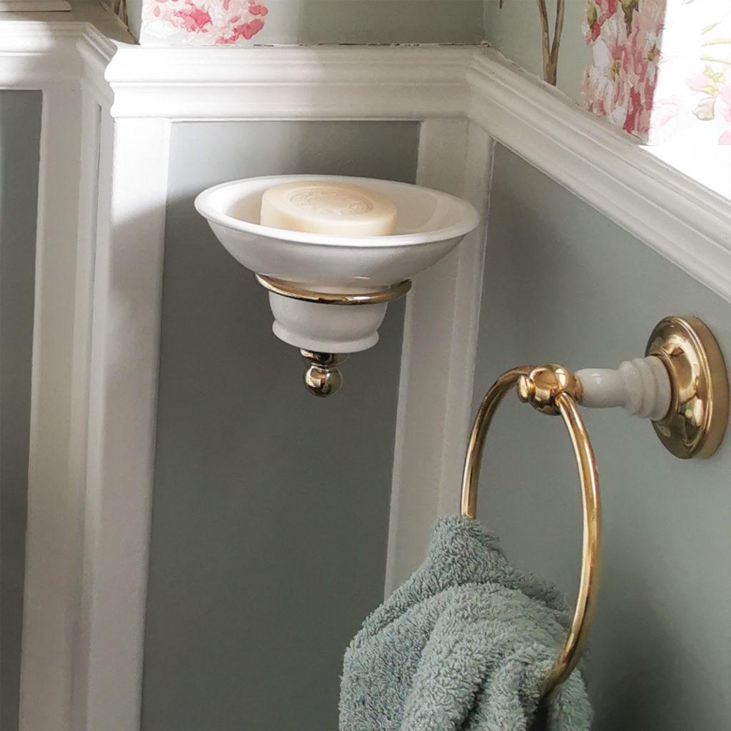 Nostalgische Toilette Accessoires