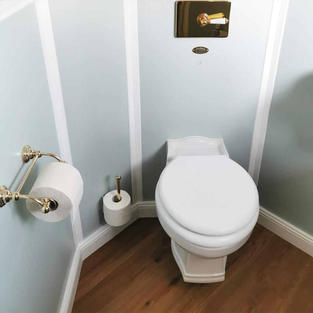 Nostalgische Toilette