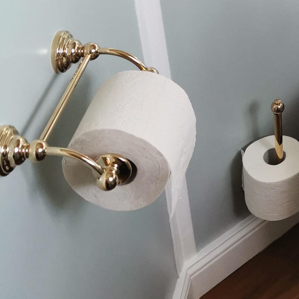 WC Rollenhalter nostalgische Toilette