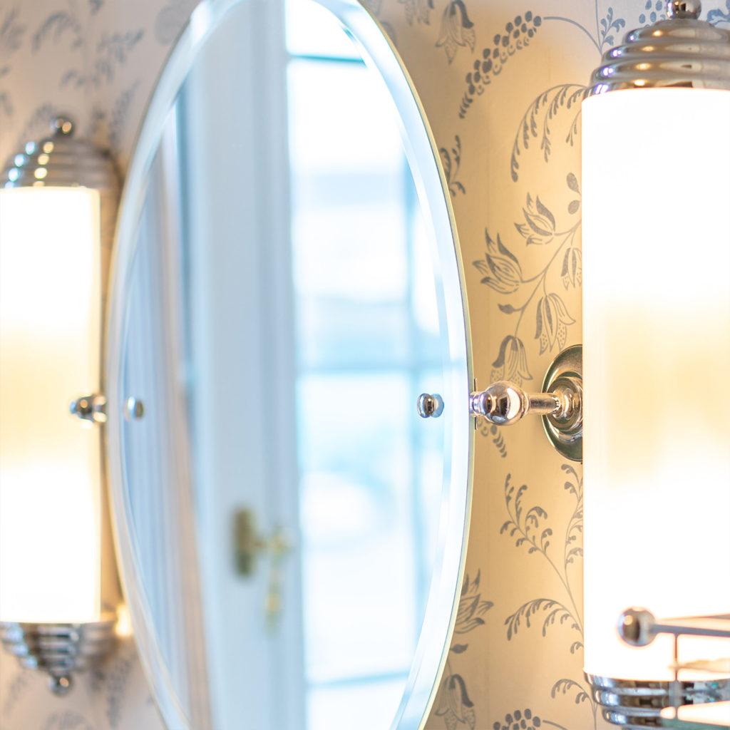 Nostalgie Badezimmer Vintage Spiegel