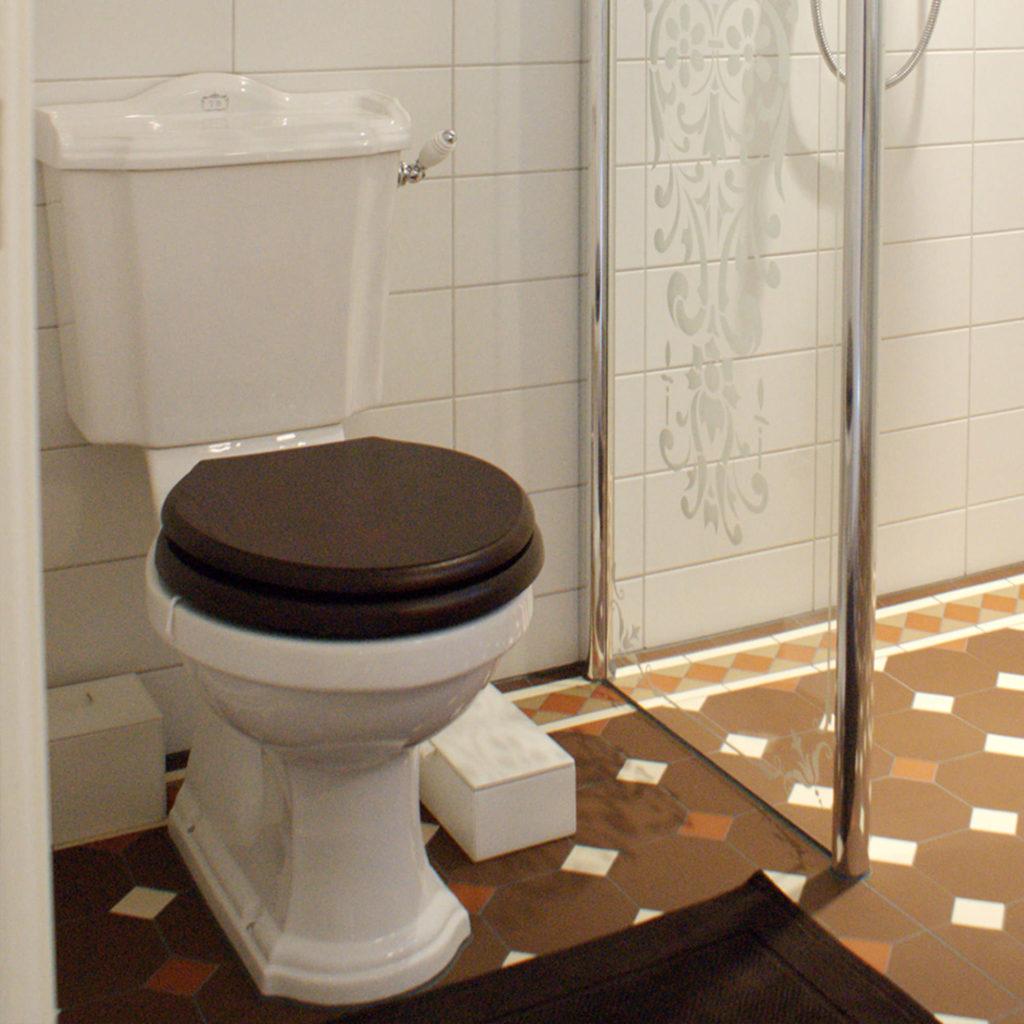 Nostalgie Badezimmer WC